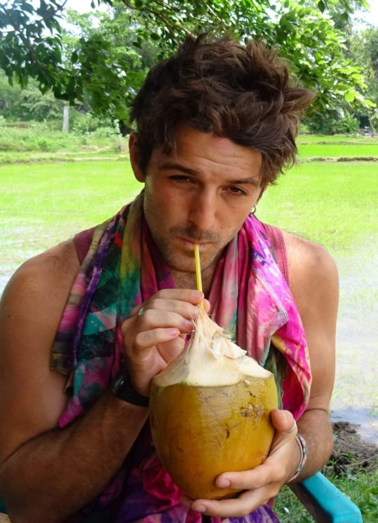 Josh Kian - author of vegan Sri Lanka travel tips