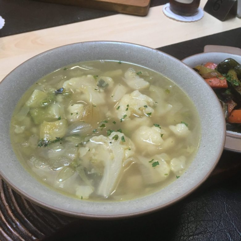 Widow's soup - a vegan Maltese dish