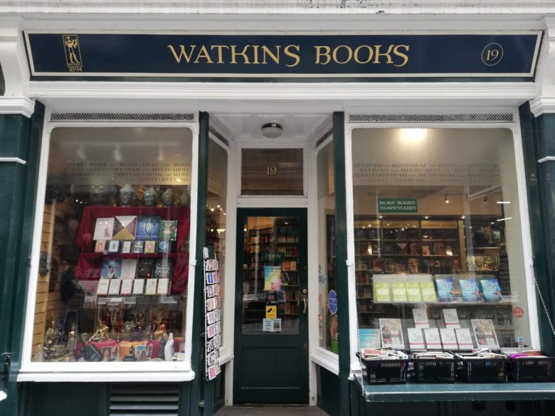 Watkins Books, a.k.a Flourish and Blotts for Muggles - Harry Potter Sights London