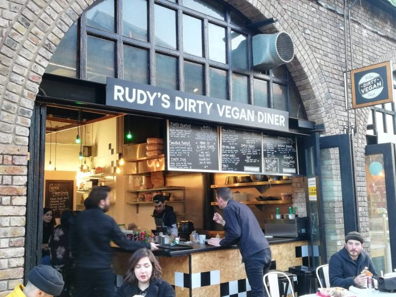 Rudy's Dirty Vegan Diner in Camden Market