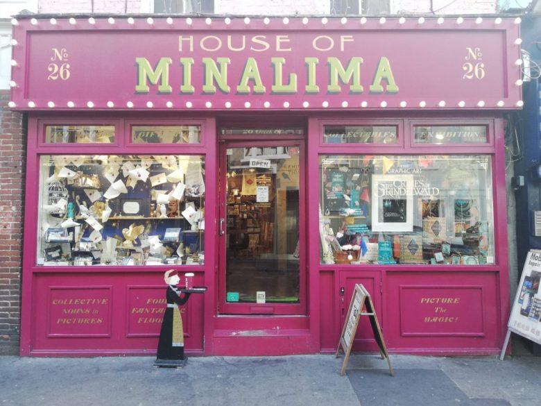 House of Mina Lima Harry Potter Store London