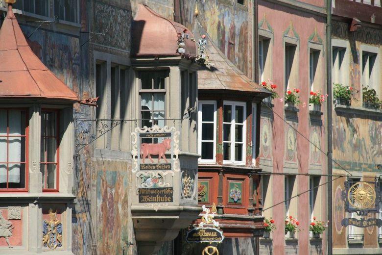 Rathausplatz Stein am Rhein Switzerland