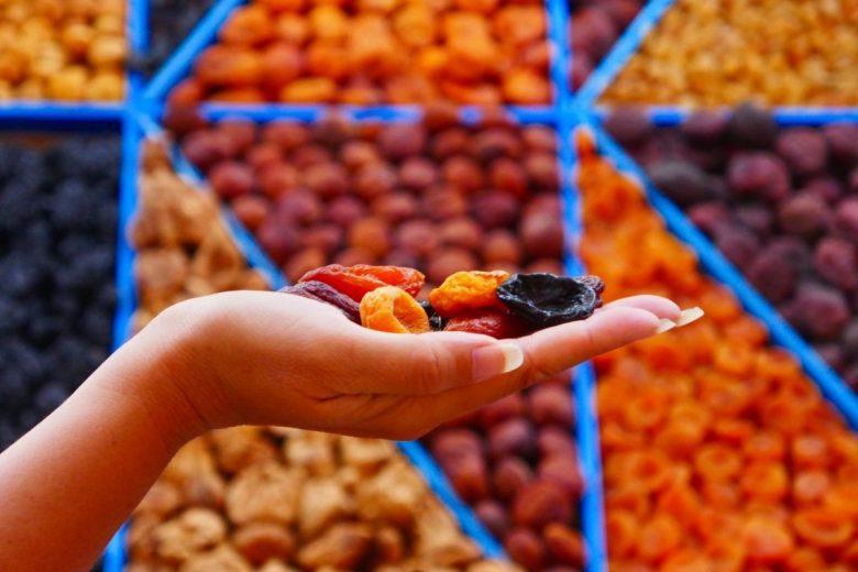 Central Market Kazan - dried fruit