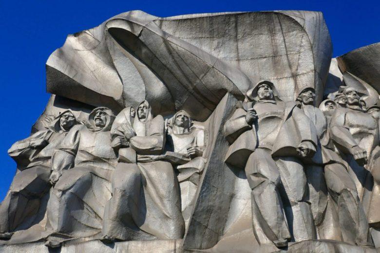 Communist sculpture in Minsk Belarus
