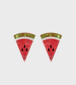 watermelon earrings