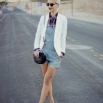 STYLING OVERALL SHORTS FOR FALL