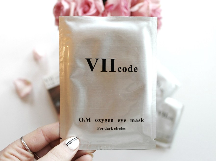 fashion blogger, beauty blogger, VIIcode, eye masks, skin care, skincare, anti-wrinkle, anti-aging, beauty products