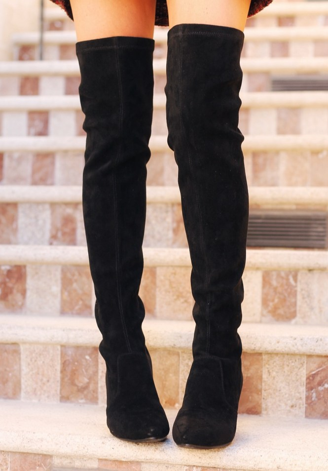 over the knee boots, vipme, fall style, fall fashion, winter style, winter fashion, ootd, outfit, style, fashion, fashion blogger