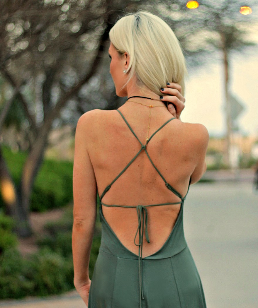 jumpsuit, angl, fashion blogger, the nomis niche, las vegas, springb style, summer style, festival, etticka, jewelry, ootd, outfit, inspo, how to wear, army green, date night, casual wear