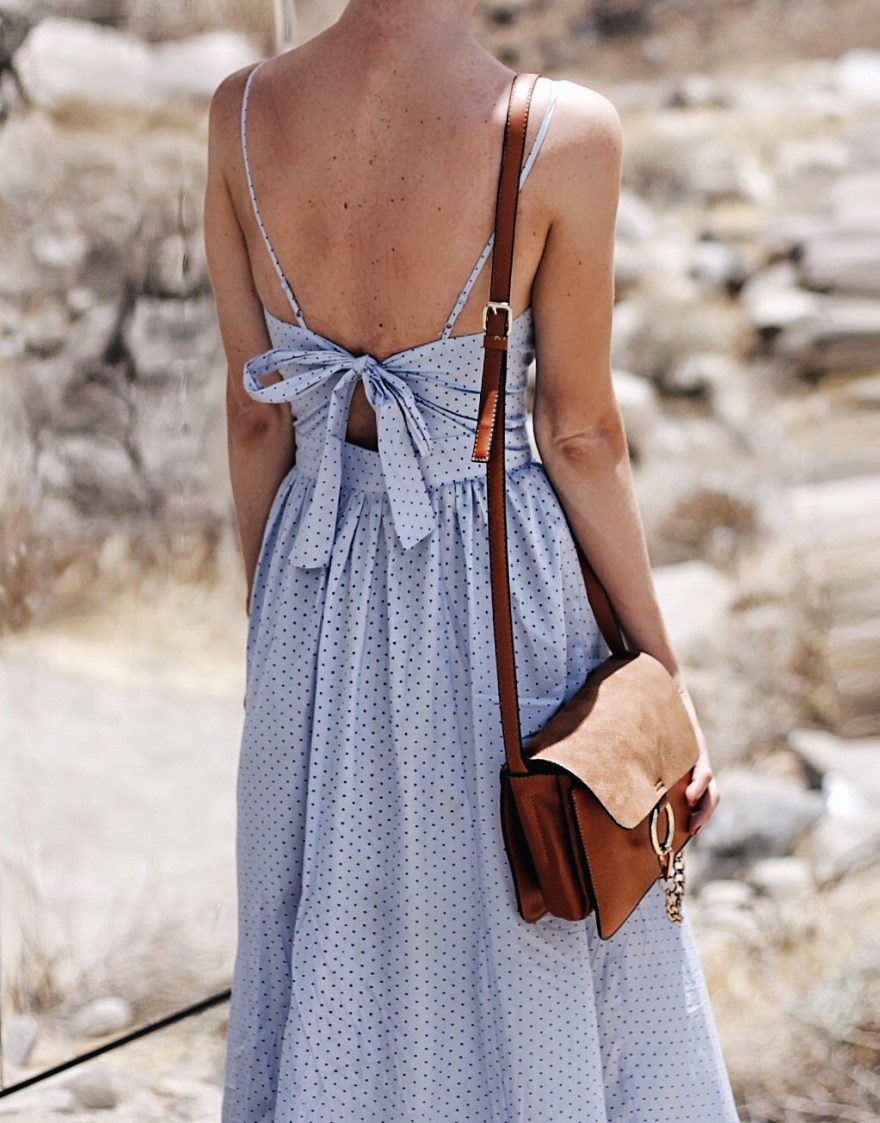 h&m, summer style, palm springs, outfit, chloe, faye, bag, white, sunglasses, tassel, earrings, yellow, summer outfit inspo, outfit ideas, palm springs style, h&m outfit, chloe faye bag, california style