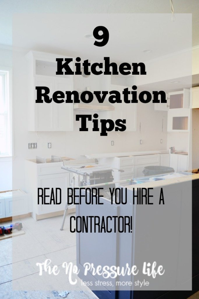 9 Kitchen Renovation Tips to Read Before You Hire a Contractor