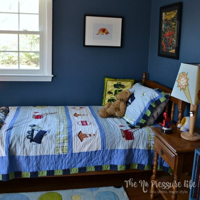 Meaningful + Eclectic Boy's Bedroom