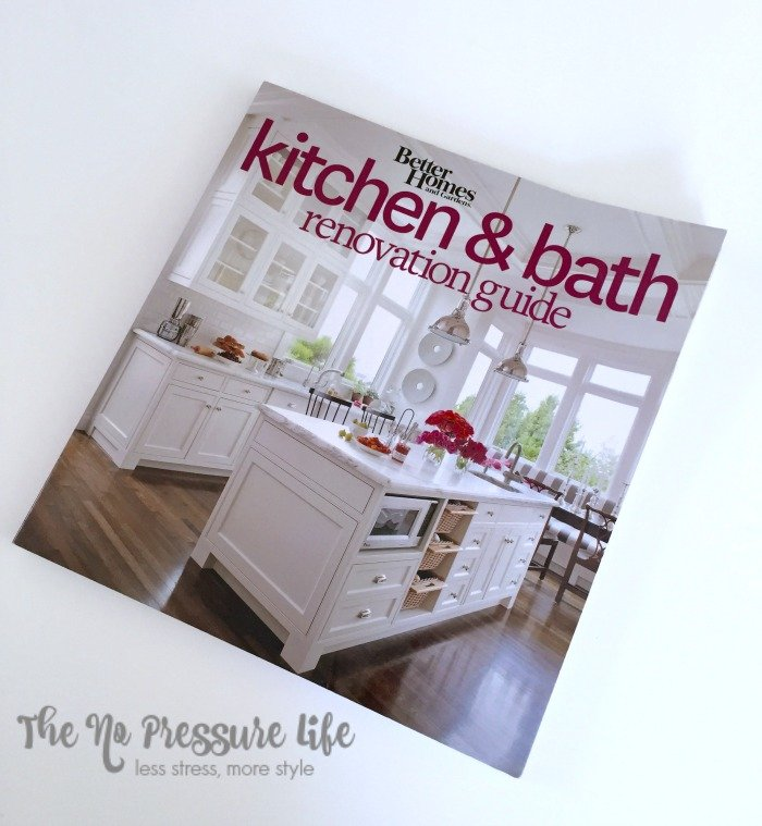 kitchen renovation tips from The No Pressure Life