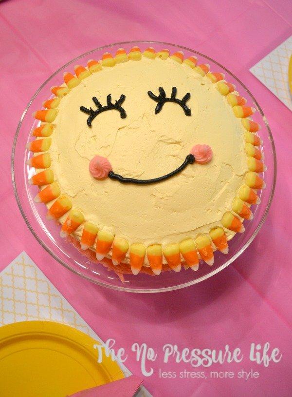 You Are My Sunshine Birthday Cake Homemade