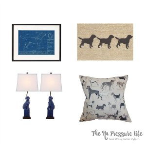 Dog Lover Decor and an Adoption Tale
