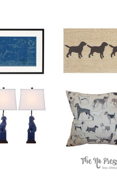 Dog lover decor: 8 classy home decor items for people who love dogs!