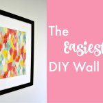How to Make Gorgeous DIY Art in 5 Minutes for Less than $5!
