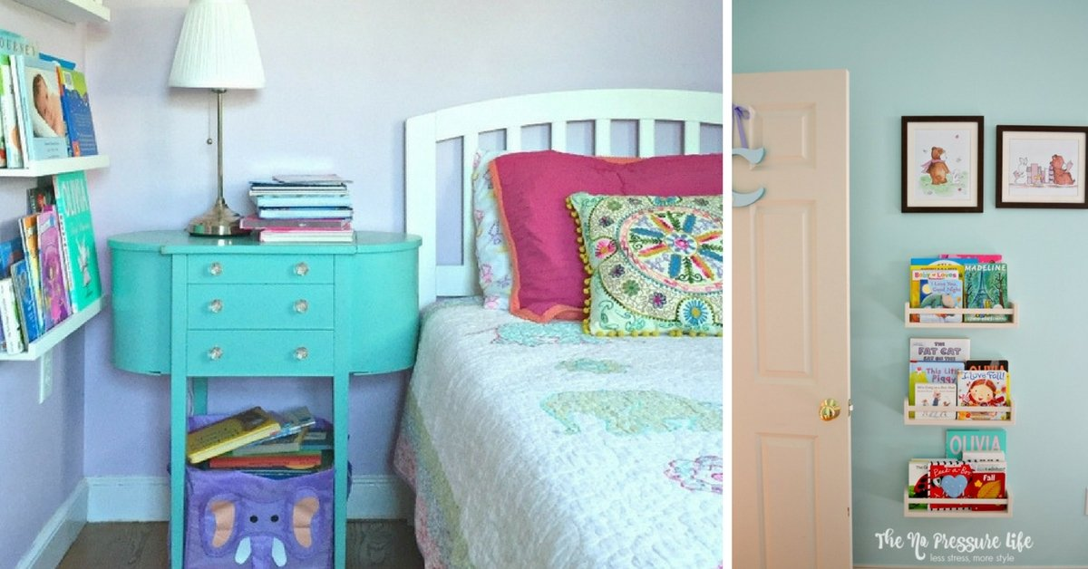 Easy + Inexpensive Small Space Solutions for Book Lovers