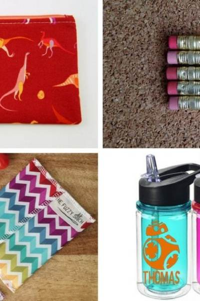 10 Handmade School Supplies That Kids & Parents Will Love