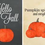Free Fall Printables for Easy DIY Art