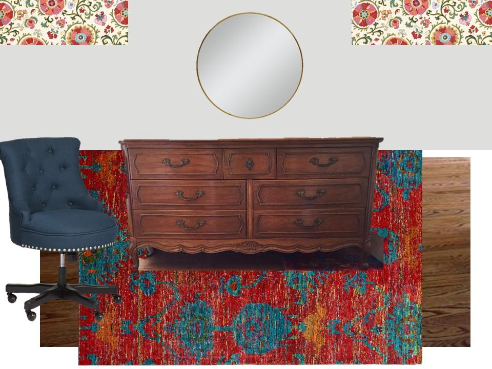 eclectic-guest-room-makeover-dresser
