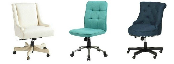 How to choose and where to buy a feminine desk chair.