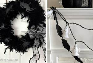 How to Make a Last-Minute, Easy Halloween Mantel