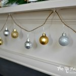 10-Minute Christmas DIY: Ornament Garland on the Cheap