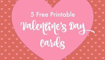 Teacher Valentines Day Card  Free Printable