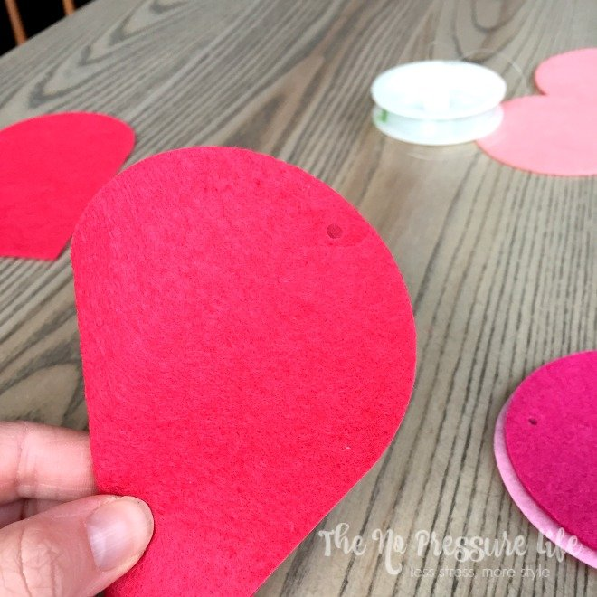 How to make heart garland