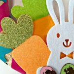 Quick DIY Easter Wreath (With Target Dollar Spot Supplies!)