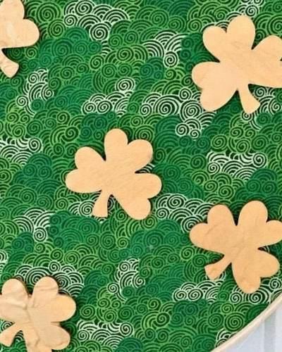 shamrock craft for St. Patrick's Day
