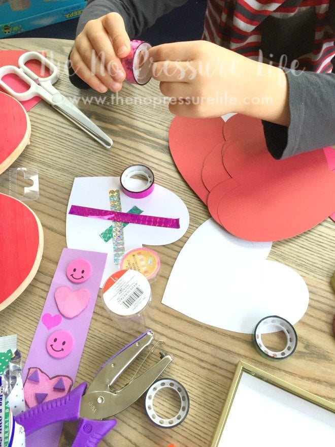 making crafts with a great craft supply list for kids