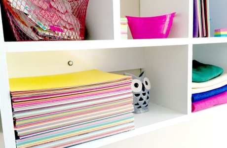 DIY Craft Room Storage: An Amazing Craft Room Makeover!