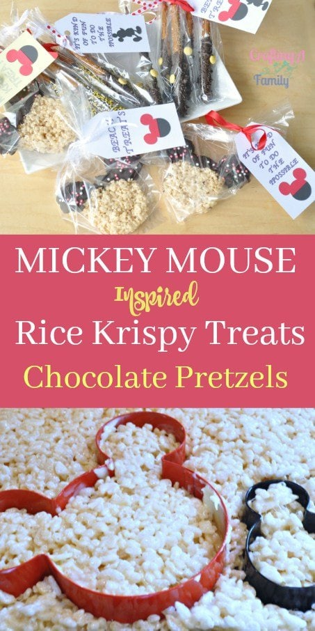 How to Make Mickey Mouse Treats