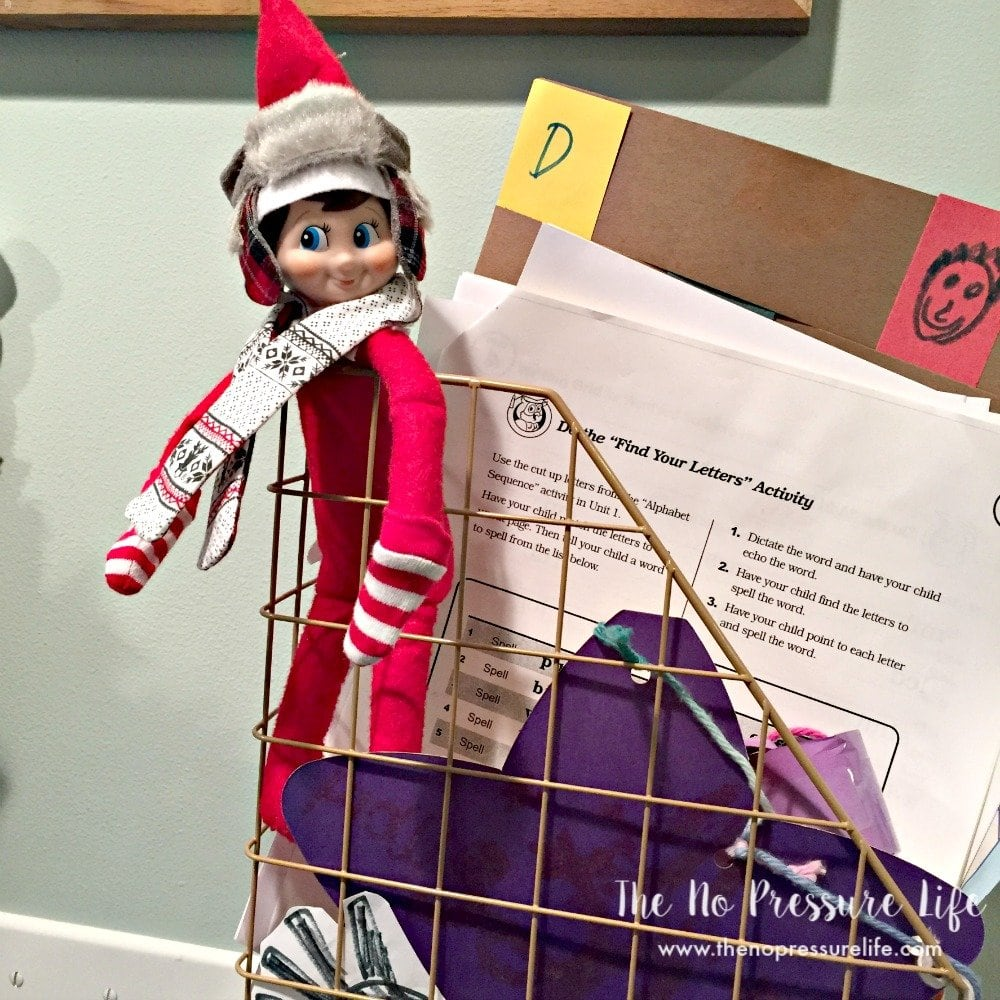 easy elf on the shelf ideas - in the command center