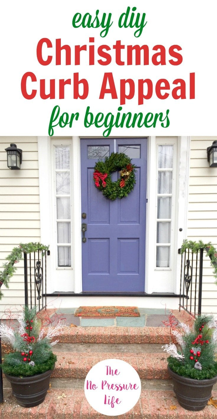 3 Easy Christmas Curb Appeal Ideas For Beginners