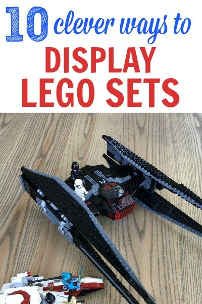 10 Clever LEGO Display Ideas That Will Show Off Your Kid's Creations