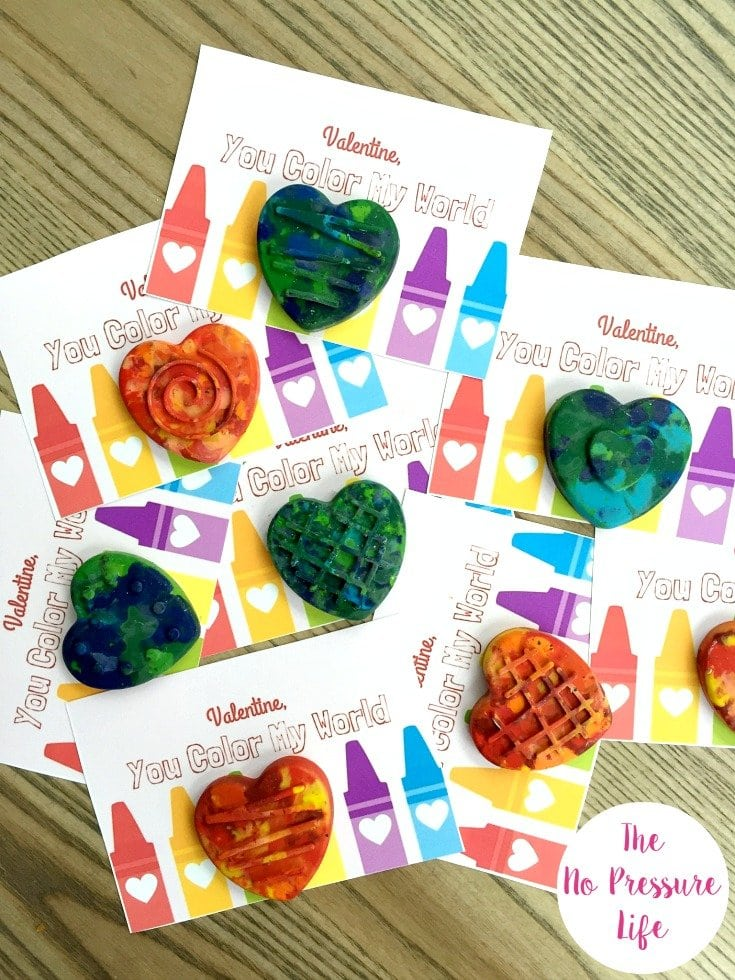 Valentine's Day party for kids - free printable Valentine's Day cards to exchange