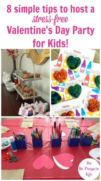 8 Simple Tips to Host a Stress-Free Valentine's Day Party for Kids