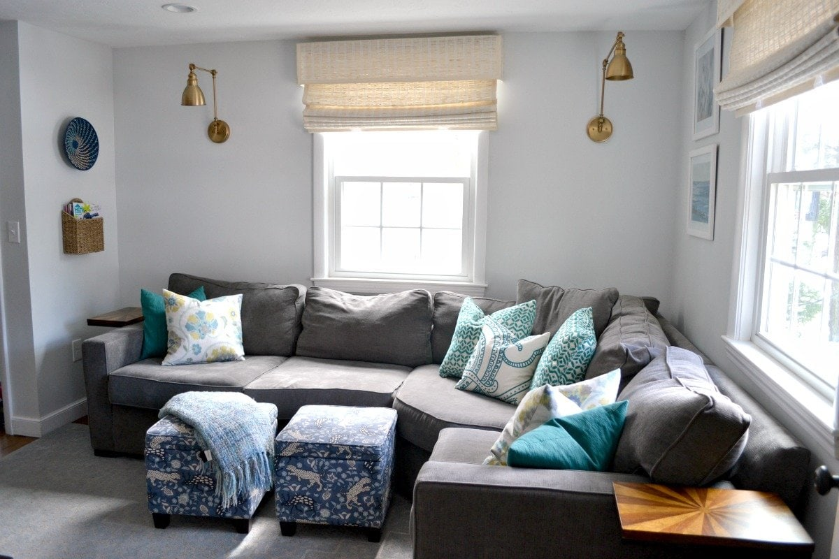 Nice How To Decorate Behind A Corner Sectional Sofa   Ideas And Tips