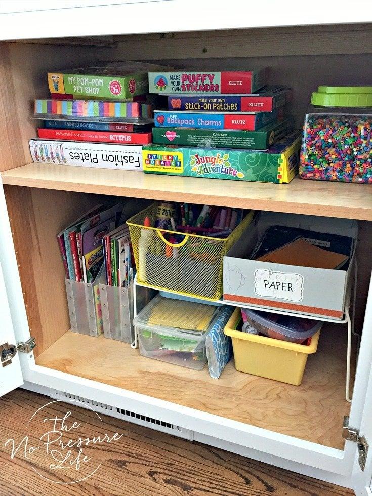 How to organize kids craft supplies with smart storage ideas