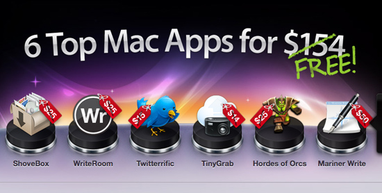 macheist nanobundle MacHeist nanoBundle: 6 ottime applicazioni commerciali per Mac OS X da scaricare gratis