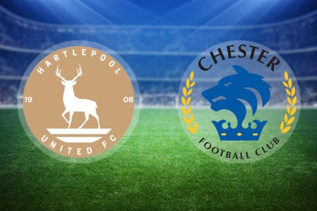 Image result for hartlepool united vs chester