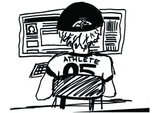 Athletes careful on social media, but not tracked