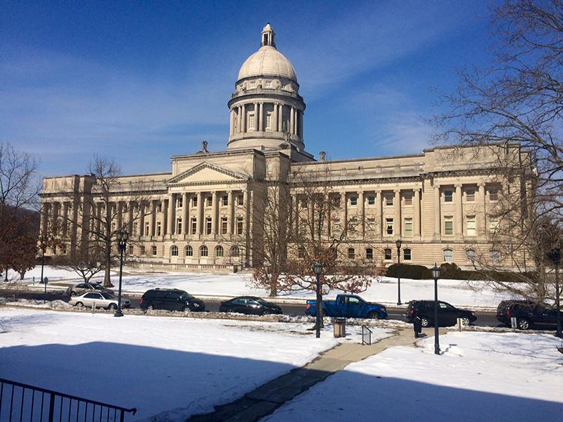 The+Kentucky+state+capitol+building.+