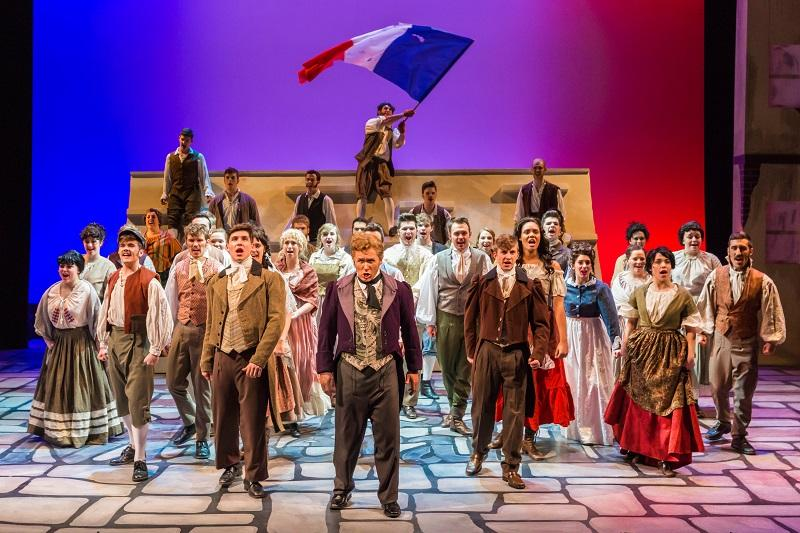 A scene from Les Mis which had its final performance of the season on March 1. The 2015-2016 season was announced last week.