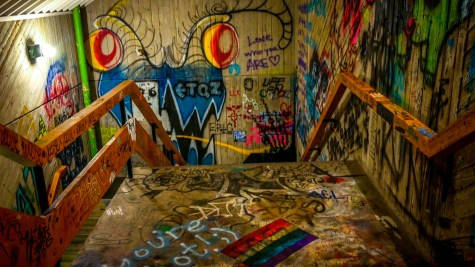 WATCH | NKU graffiti stairwell: Sanctuary of expression or vandalism?