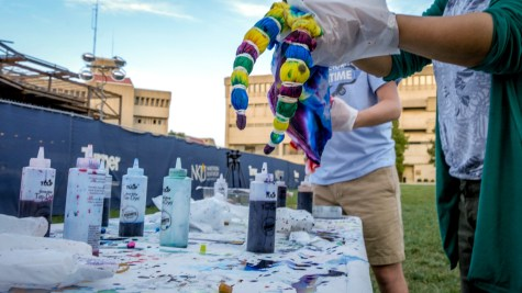 WATCH: S.T.E.M. tie dye party