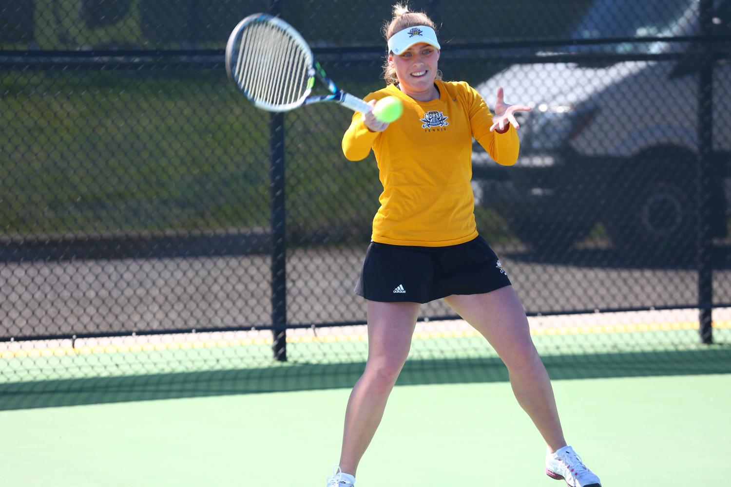 Margita Sunjic was named Horizon League tennis player of the year and Horizon League freshman of the year.